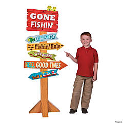 Little Fisherman Directional Sign