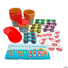 Little Fisherman Party Favor Kits for 12