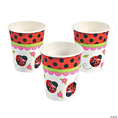 Little Ladybug Party Cups