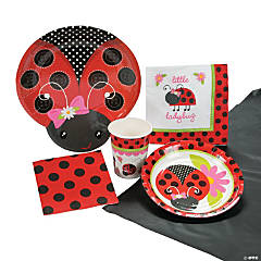 Little Ladybug Tableware Kit for 8 Guests