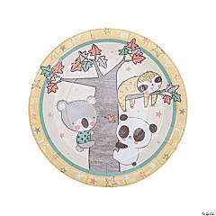 Little Panda and Friends Paper Dinner Plates - 8 Ct.