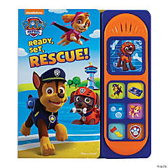 Little Sound Book - Paw Patrol: Ready, Set, Rescue