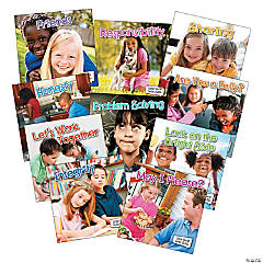 Little World Social Skills Book Set, Pack of 10