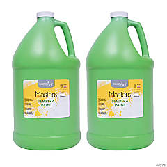 LittleMasters Tempera Paint Green Gallon