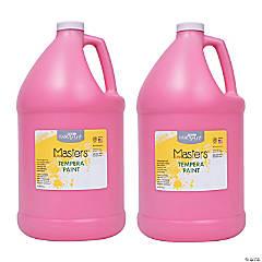 LittleMasters Tempera Paint Pink Gallon