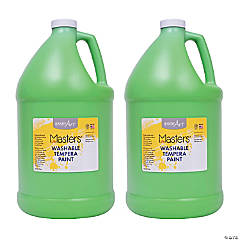 LittleMasters Washable Temp Paint Green