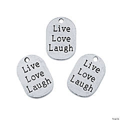 Live, Love, Laugh Charms