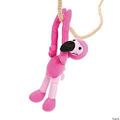 Long Arm Plush Flamingos