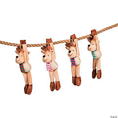 Long Arm Stuffed Reindeer