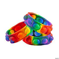 Lotsa Pops Rainbow Bracelets