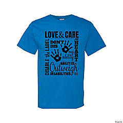 Love & Care Adult's T-Shirt - Large