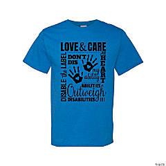Love & Care Adult's T-Shirt - Medium