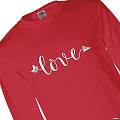 Love Arrow Adult's Long Sleeve T-Shirt