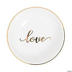 Love Ceramic Ring Dish