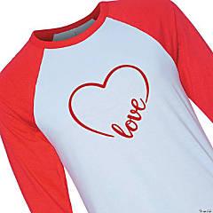 Love Heart Adult's T-Shirt
