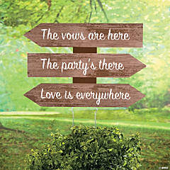 Love is Everywhere Directional Sign