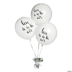 "Love is in the Air 11"" Latex Balloons"