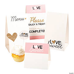 Love is Sweet Buffet Decorating Kit