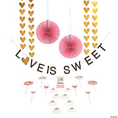 Love is Sweet Treat Table Decorating Kit