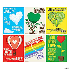 Love of Jesus Poster Set