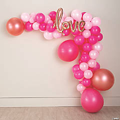 Love Pink Balloon Kit