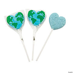 Love the Earth Lollipops