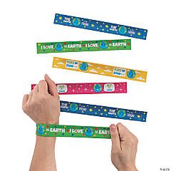 Love the Earth Slap Bracelets
