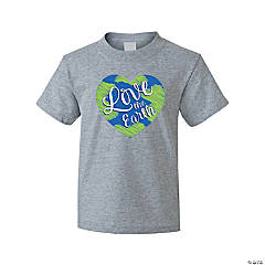 Love the Earth Youth T-Shirt - Extra Large