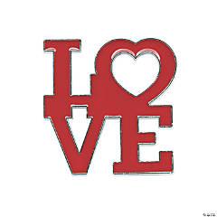 Love Valentine Pins