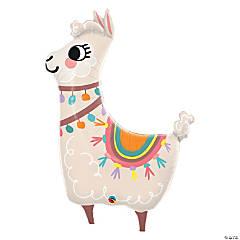 Loveable Llama Mylar Balloon