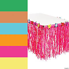 Luau Grass Table Skirt