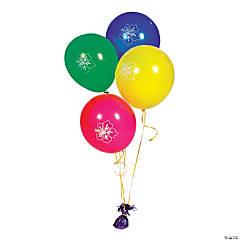Luau Latex Balloons