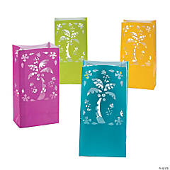 Luau Luminary Bags