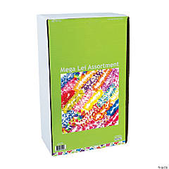 Luau Party Bulk Polyester Lei Assortment - 50 Pc.