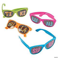 Luau Pinhole Glasses