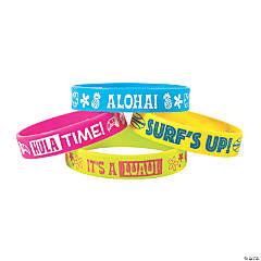 Luau Rubber Bracelets