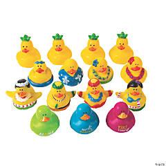 Luau Rubber Duckies Assortment