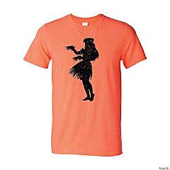 Luau Silhouette Adult's T-Shirt - 2XL