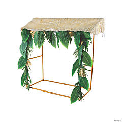 Luau Tropical Tabletop Hut