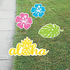 Luau Yard Signs