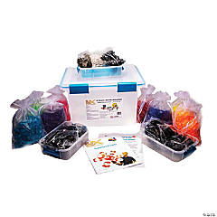 Lux Blox™ STEAM Accelerator Deluxe Set, Bright Colors, 1,400 Pieces