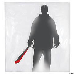Machete Killer Shower Curtain Halloween Decoration