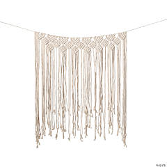 Macramé Wedding Backdrop Curtain