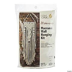 Macrame Wall Hanger Kit - Dual Spirals