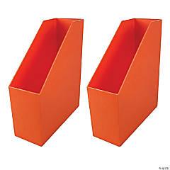 Magazine File - Orange, Pack of 2