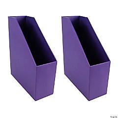 Magazine File - Purple, Pack of 2