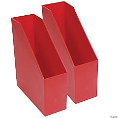 Magazine File - Red, Pack of 2