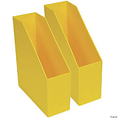 Magazine File - Yellow, Pack of 2