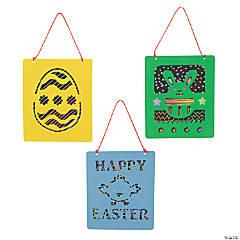 Magic Color Scratch Easter Suncatchers