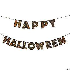 Magic Color Scratch Happy Halloween Banner